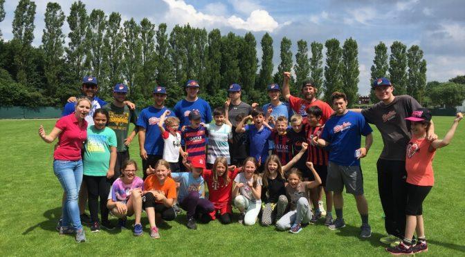 1. Platz beim Baseballcamp der Hamburg Stealers