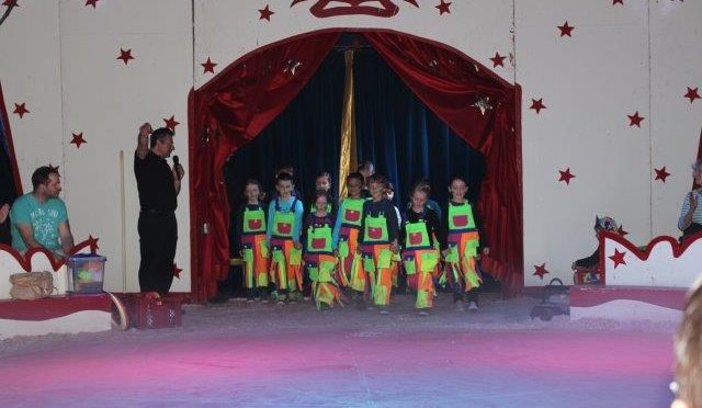Zirkus Zaretti am Anna-Susanna-Stieg