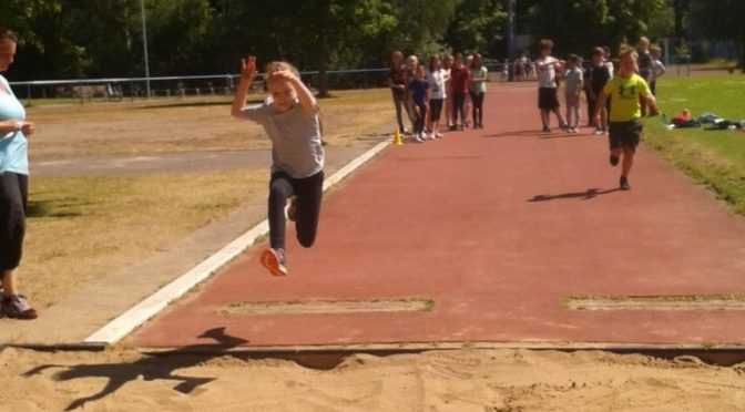 Leichtathletiksportfest