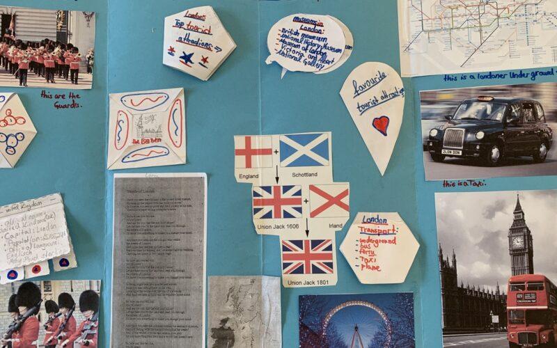 Great Britain in den 4. Klassen